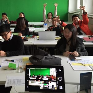 Happy Chinese class in Hamburg