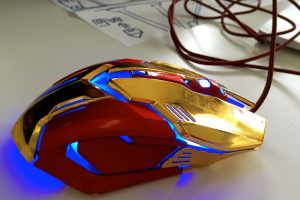 A spiffy computer mouse